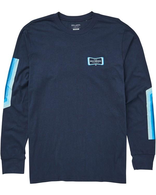 0 Pulse Long Sleeve Tee Blue M405QBPU Billabong