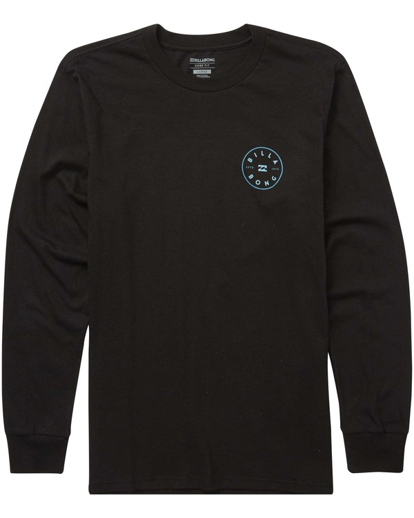0 Rotor Long Sleeve Tee Black M405QBRO Billabong