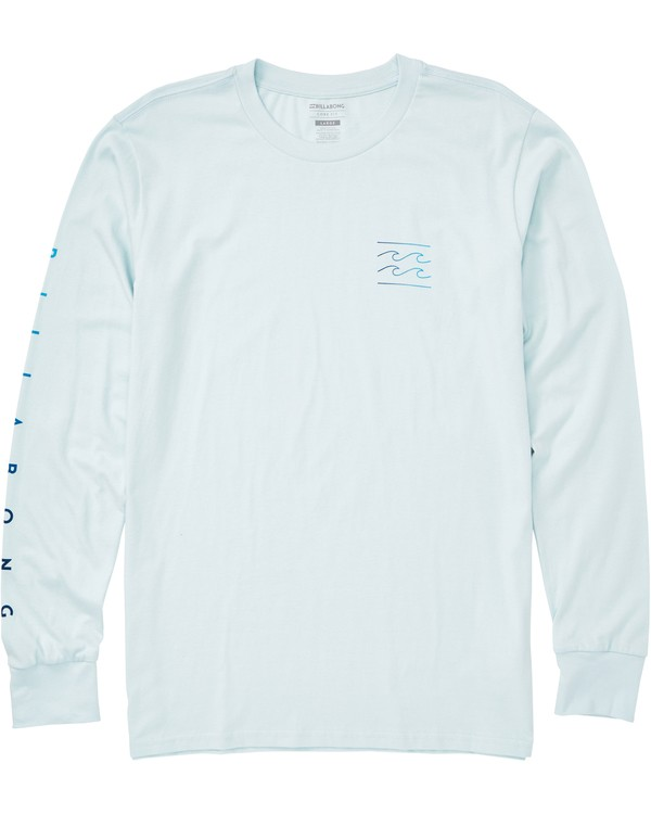 0 Unity Sleeves Long Sleeve Tee Blue M405QBUS Billabong