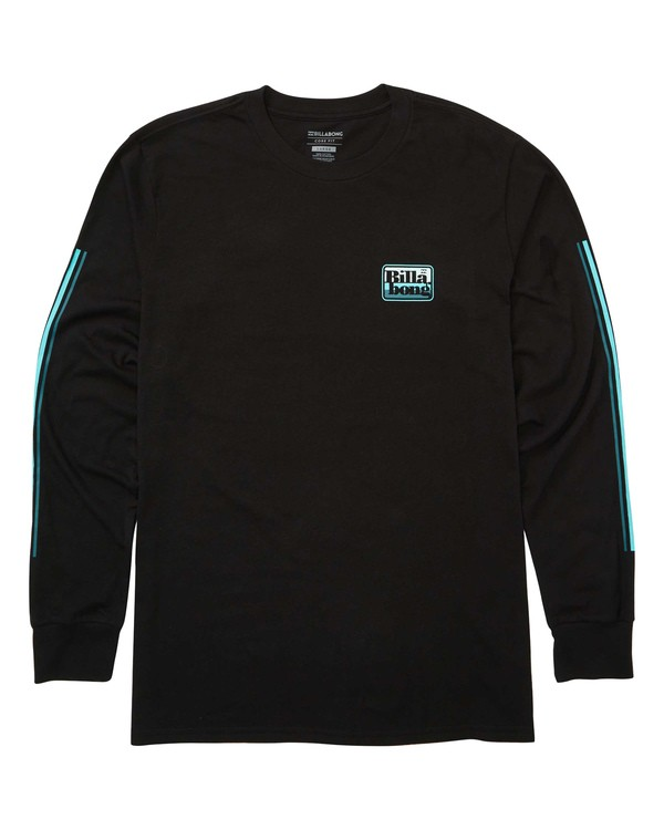 0 Keyline Long Sleeve Tee Black M405TBKE Billabong