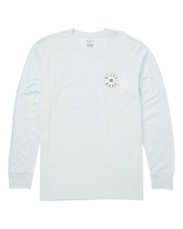 0 Rotor Long Sleeve Tee Blue M405TBRH Billabong