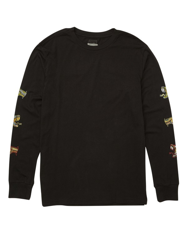 0 Viper Long Sleeve Tee Black M405TBVI Billabong