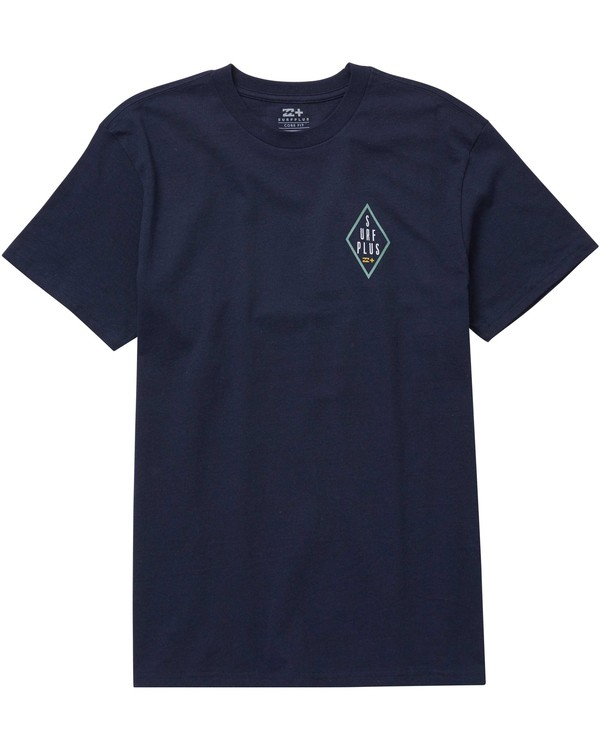 0 Force Field Tee Blue M406NBFO Billabong