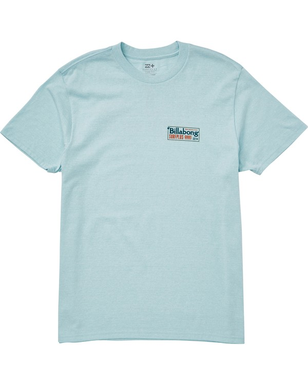 0 Bullard Tee Blue M406QBBU Billabong
