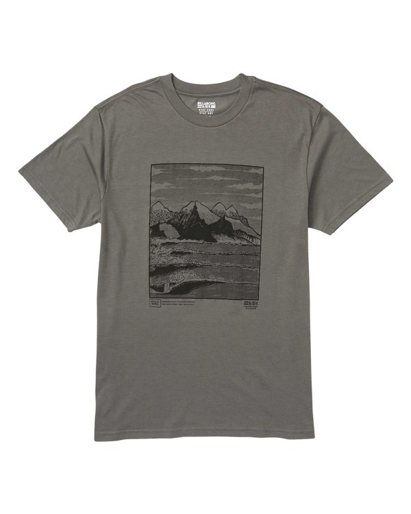 0 Realin Performance Tee Grey M414SBRE Billabong