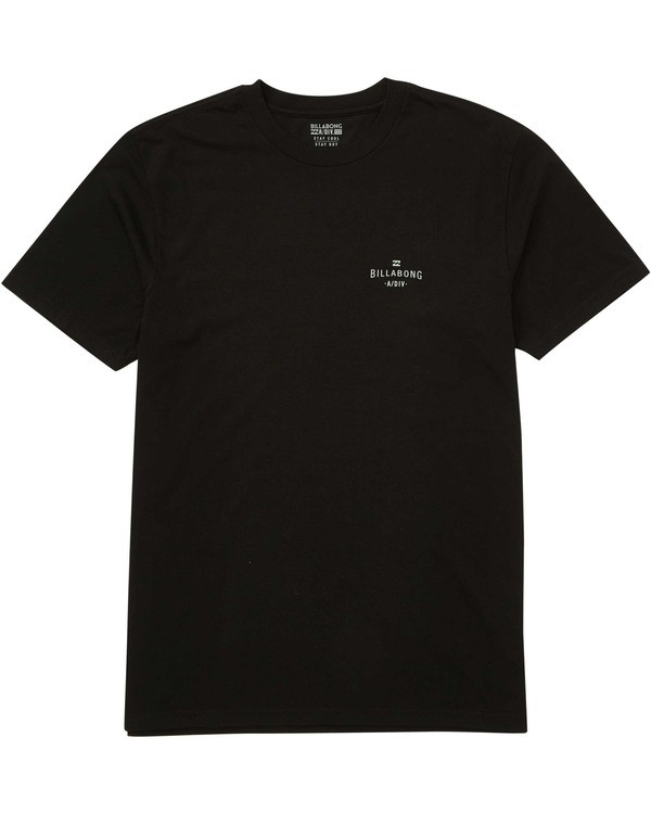 0 Watcher Tee Black M414TBWA Billabong