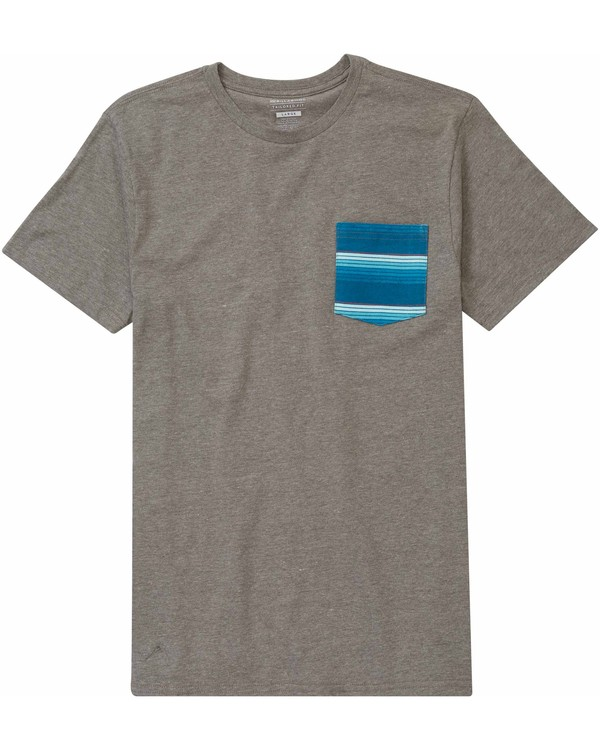 0 Team Pocket Tee  M431MTEA Billabong