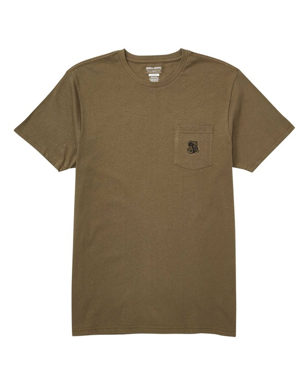 0 Division Tee Green M433TBDI Billabong