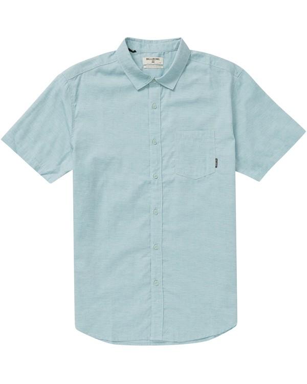 0 All Day Helix Short Sleeve Shirt  M500NBAL Billabong