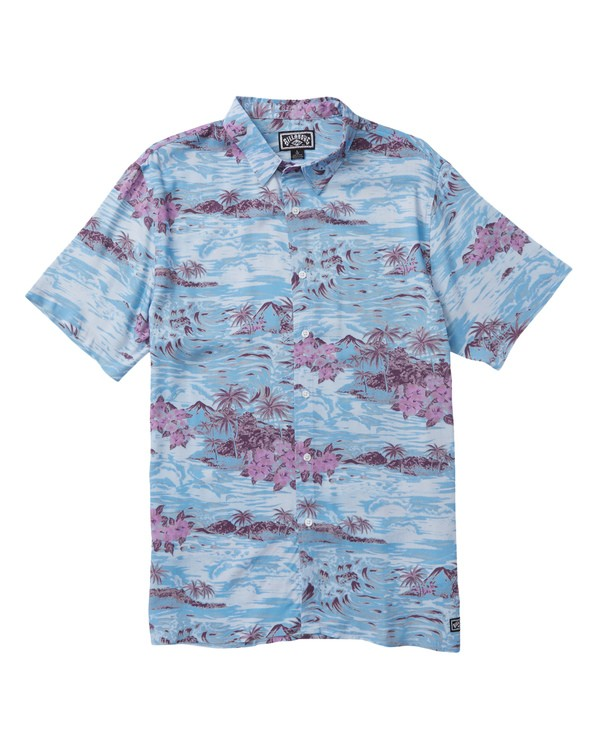 0 SUNDAY'S PARTY SHIRT Blue M500SBSP Billabong