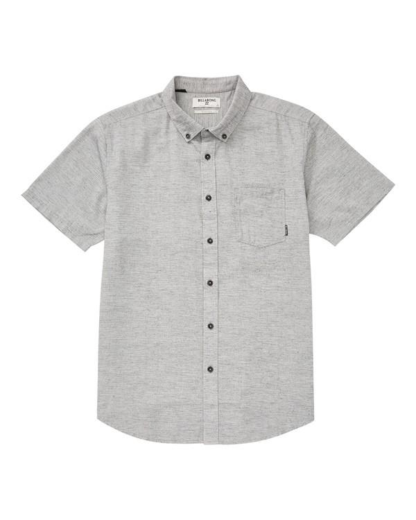 0 All Day Short Sleeve Shirt Grey M500TBAL Billabong