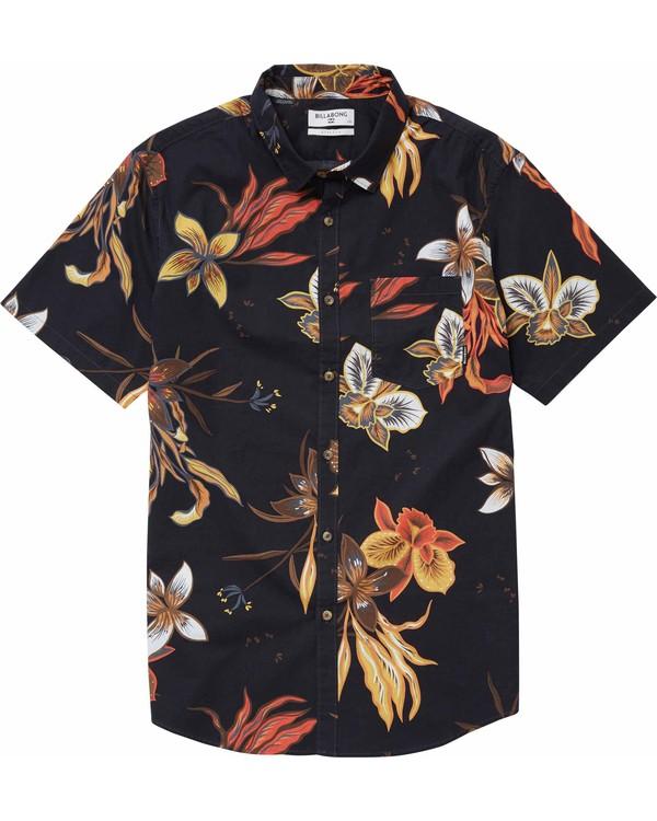 0 Sunday Floral Short Sleeve Shirt  M503NBSF Billabong