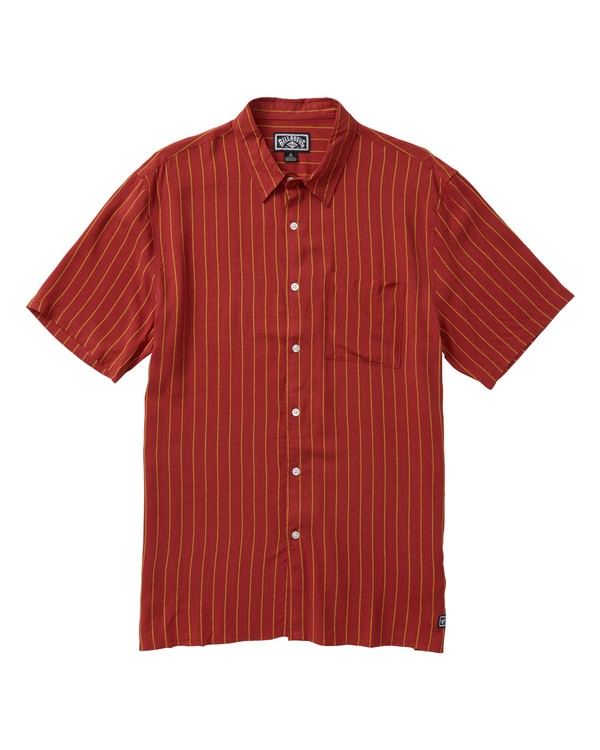 0 Cosmo Short Sleeve Shirt Red M503SBCE Billabong