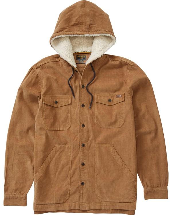 0 Humbolt Long Sleeve Hooded Shirt  M513LHUM Billabong