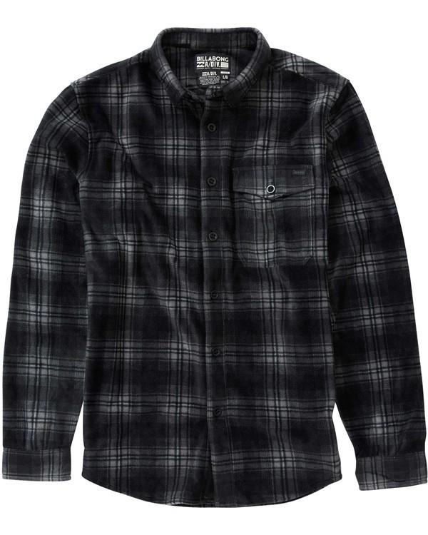 0 Furnace Flannel Black M515LFUR Billabong