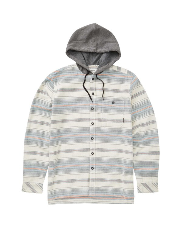 0 Baja Flannel Grey M521TBBF Billabong