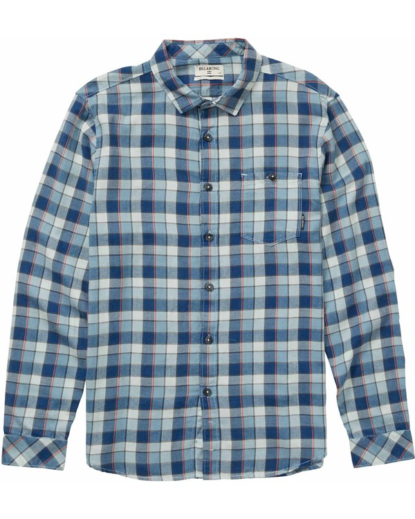 0 Freemont Long Sleeve Flannel  M523NBFR Billabong