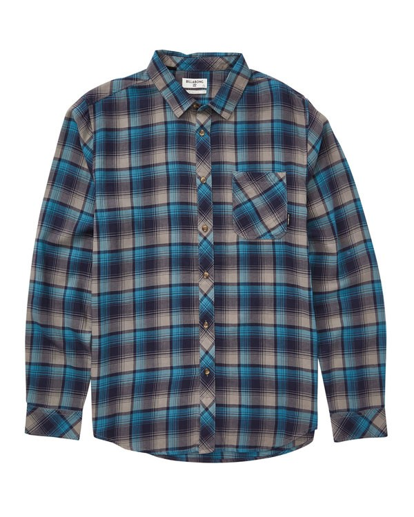 0 Freemont Flannel Blue M523SBFR Billabong