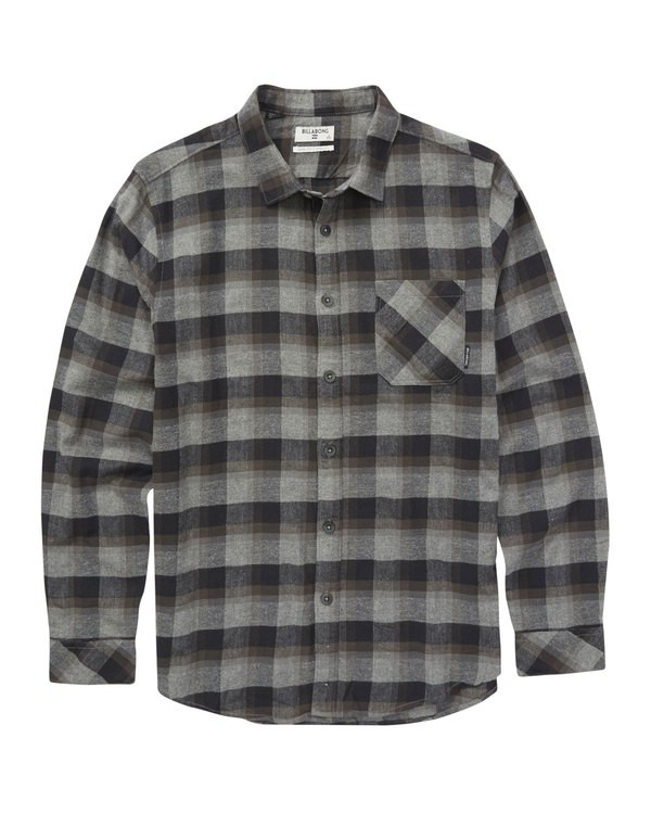 0 Freemont Flannel Black M524QBFF Billabong