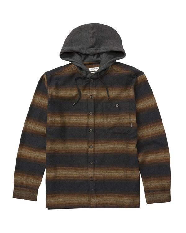 0 BAJA FLANNEL Black M525QBBF Billabong