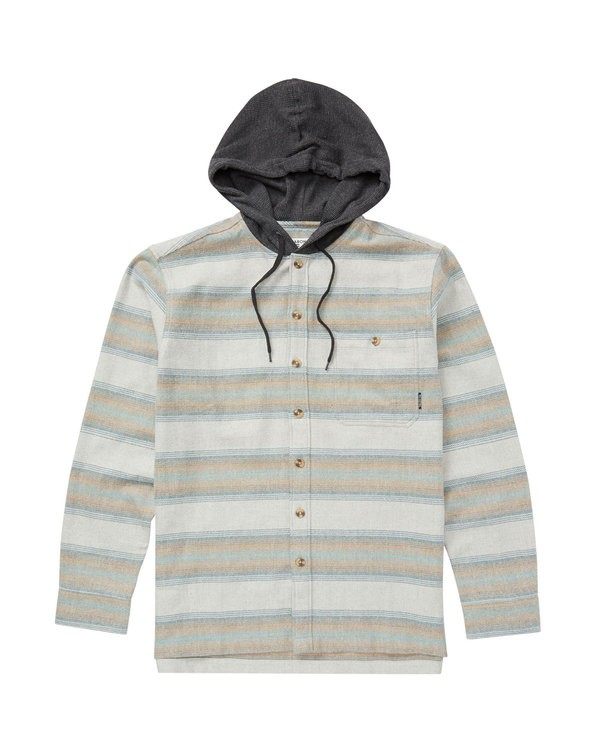 0 BAJA FLANNEL Grey M525QBBF Billabong