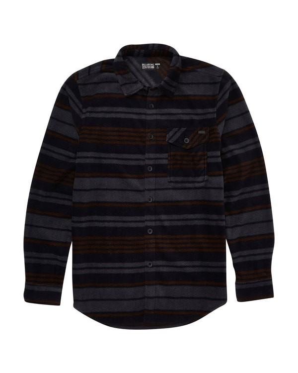 0 Furnace Flannel Blue M527QBFF Billabong