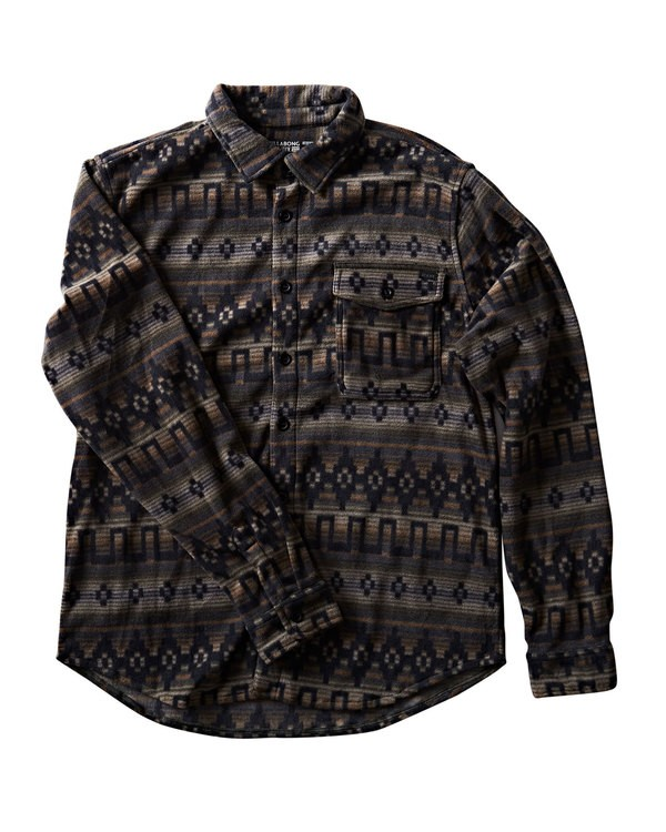 0 Furnace Flannel Black M527QBFF Billabong