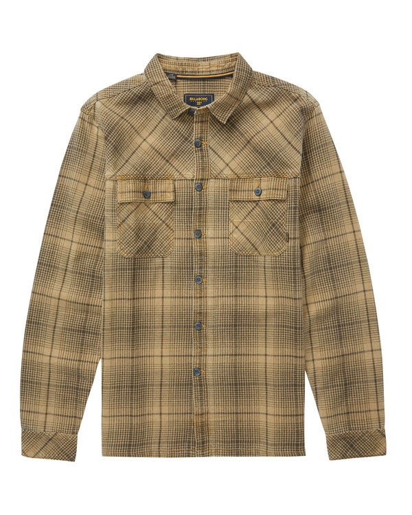 0 Overseas Flannel Brown M530QBOV Billabong
