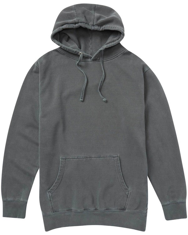 0 Wave Washed Pullover Hoodie Black M640NBWA Billabong