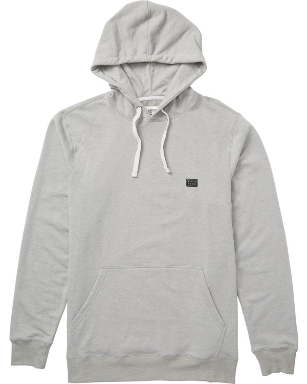 0 All Day Pullover Hoodie Grey M640QBAP Billabong