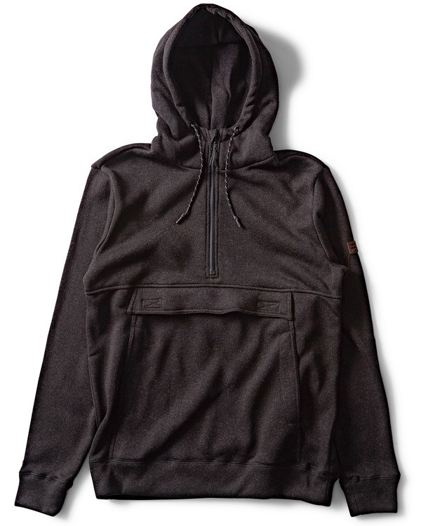0 Boundary Fleece Hoodie Black M640QBBO Billabong