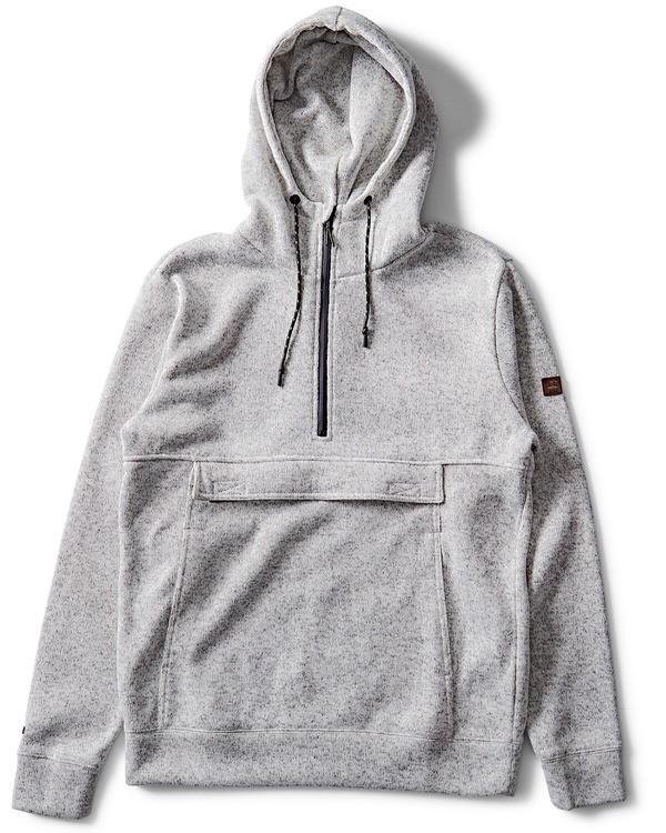 0 Boundary Fleece Hoodie Grey M640QBBO Billabong