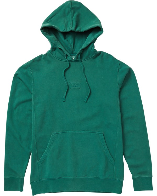 0 Wave Washed Pullover Hoodie Green M640QBWP Billabong