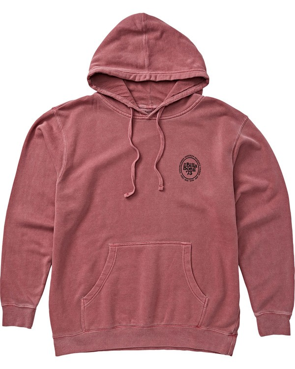 0 Cruiser Pullover Hoodie Red M640SCRB Billabong