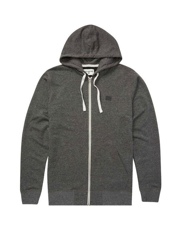 0 All Day Zip Hoodie Black M660QBAZ Billabong