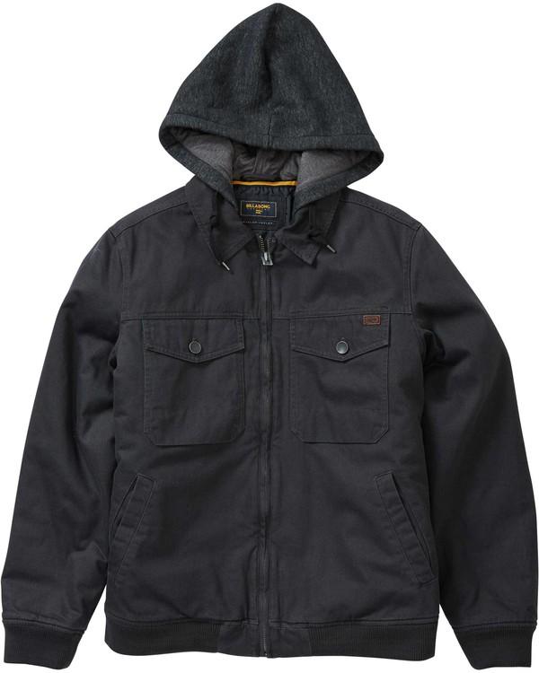 0 Barlow Twill Jacket  M704LBAT Billabong