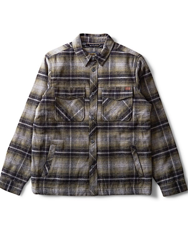 0 Barlow Plaid Jacket Camo M704QBBP Billabong