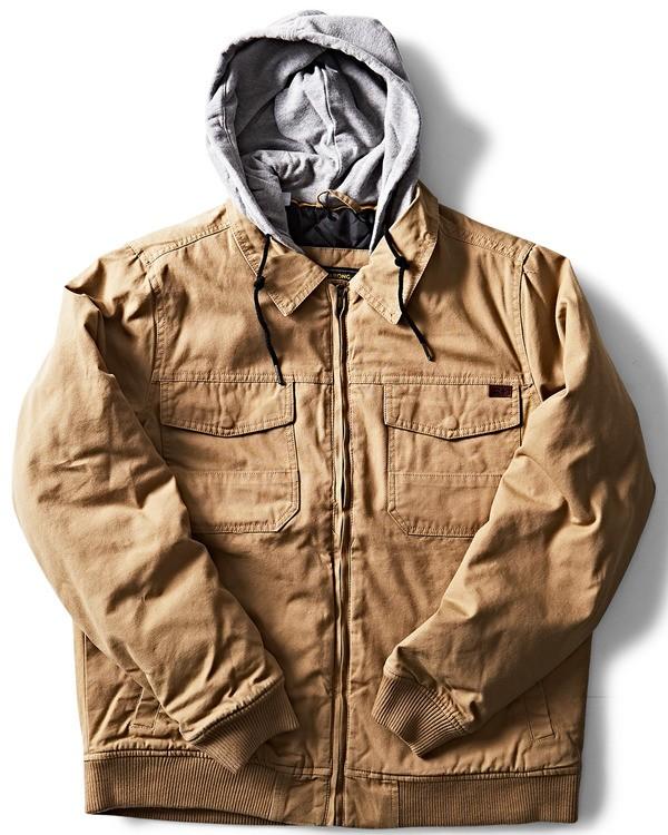0 Barlow Twill Jacket Pink M706QBBT Billabong
