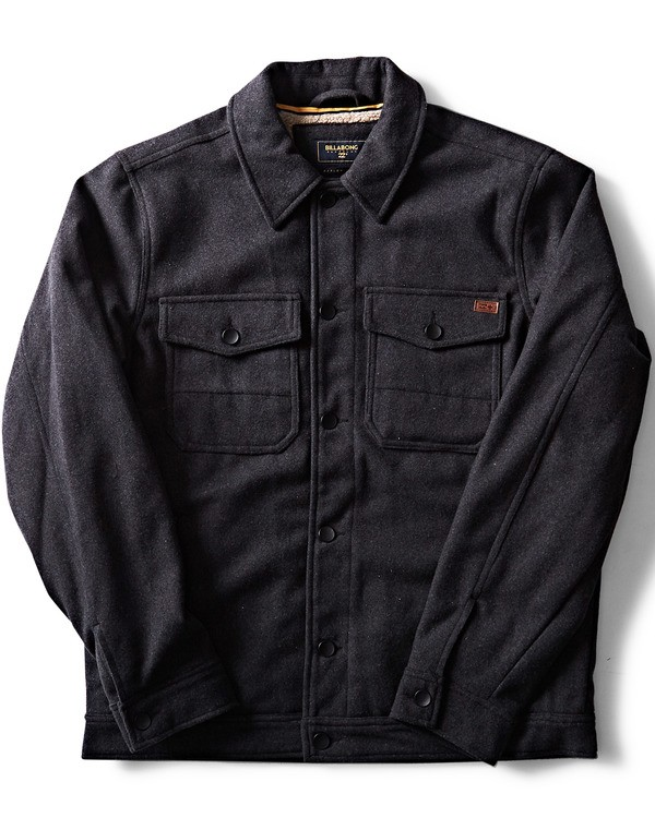 0 Barlow Wool Jacket Black M708QBWO Billabong