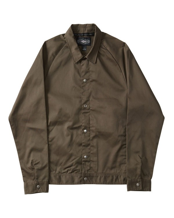 0 CREED JACKET Brown M709QBCM Billabong