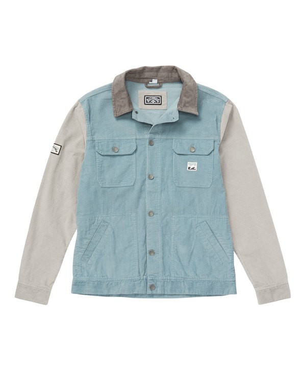 0 The Cord Jacket Blue M712QBTC Billabong