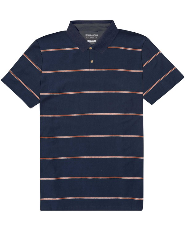 0 Die Cut Polo Shirt Blue M900PBDI Billabong