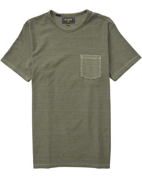 0 Stringer Short Sleeve Crew Tee  M904QBST Billabong