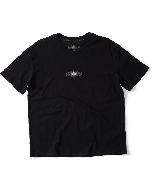 0 THORN LOGO TEE Black M905QBTM Billabong