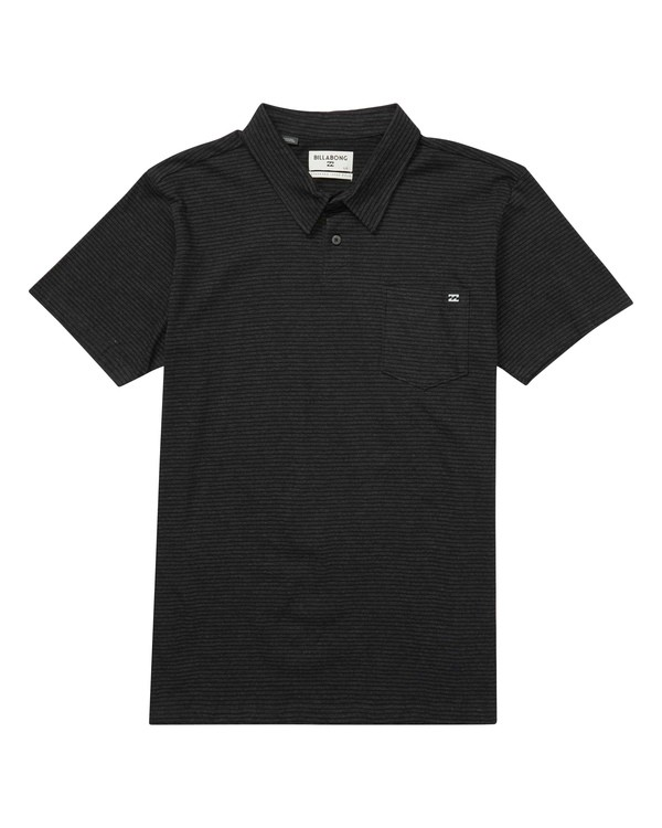 0 Standard Issue Polo Black M915LSTA Billabong