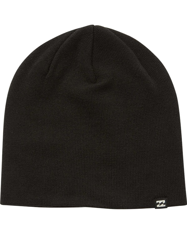 0 All Day Solid Beanie Black MABNQBAD Billabong