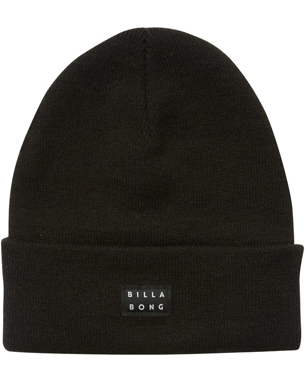 0 Disaster Fold Up Beanie Black MABNQBDI Billabong
