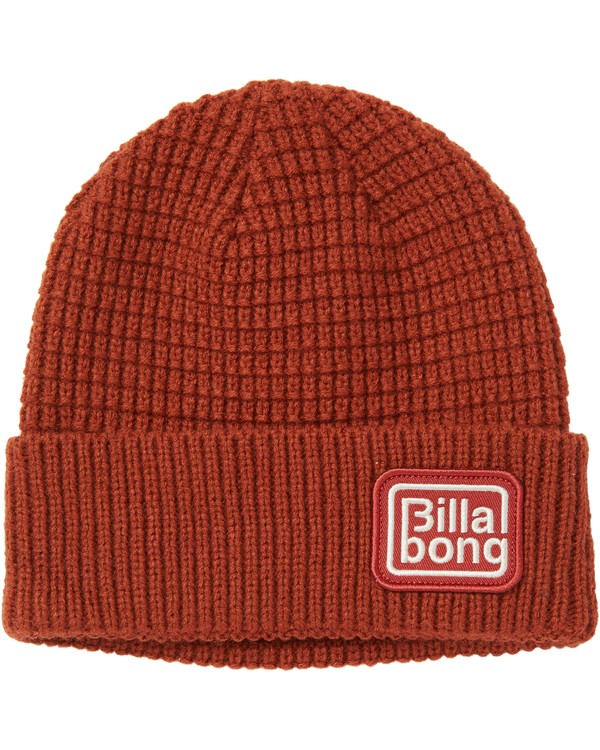 0 Depot Beanie Red MABNSBDE Billabong
