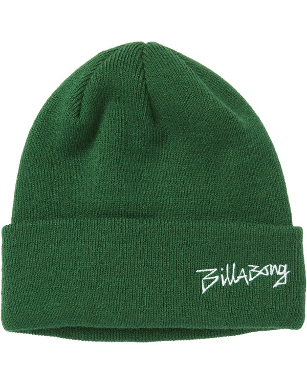 0 Eighty Six Beanie Green MABNSBES Billabong