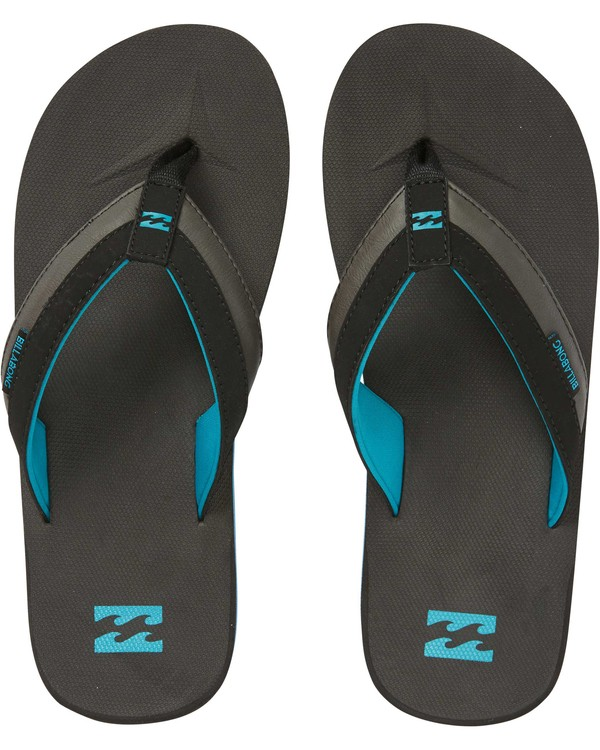 0 All Day Impact Sandals Black MAFTAADI Billabong